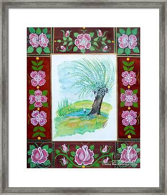 The Spring Framed Print by Anna Folkartanna Maciejewska-Dyba