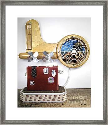 The Spruce Goose II  #87 Framed Print by Bill Czappa