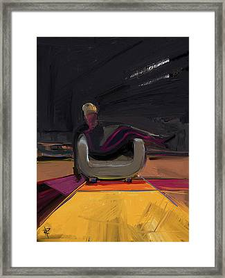 The Spy Framed Print by Russell Pierce