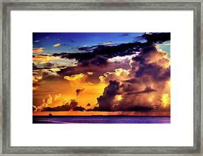 The Squall Framed Print