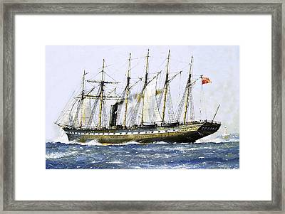 The Ss Great Britain Framed Print by John S Smith