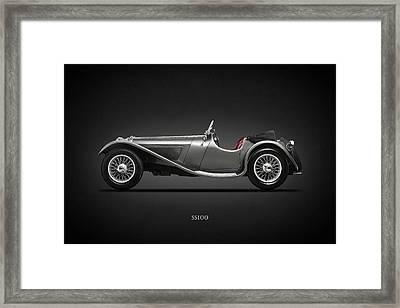 The Ss100 1937 Framed Print by Mark Rogan