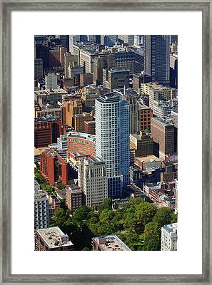 Framed Print featuring the photograph The St. James 200 W Washington Sq Philadelphia Pa 19106 3513 by Duncan Pearson