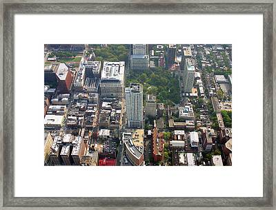 Framed Print featuring the photograph The St. James 200 West Washington Square Philadelphia Pa 19106 3513 by Duncan Pearson