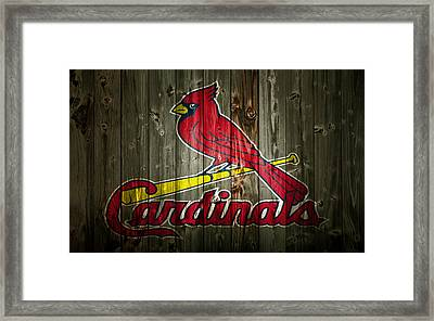 The St Louis Cardinals 2a Framed Print by Brian Reaves