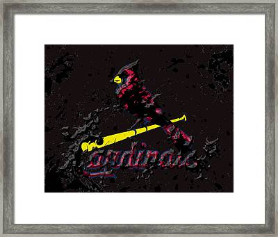 The St Louis Cardinals Framed Print
