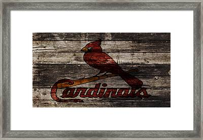The St Louis Cardinals W1 Framed Print by Brian Reaves