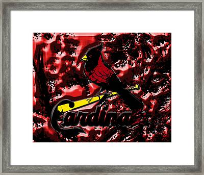 The St Louis Cardinals1a Framed Print by Brian Reaves