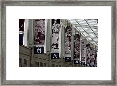 The Stadium Framed Print by Michael Albright