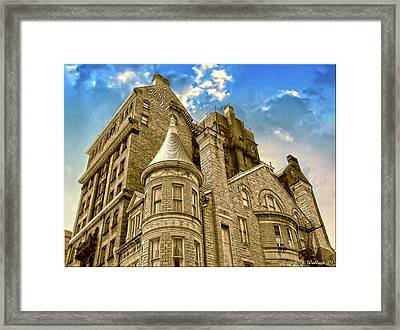 Framed Print featuring the photograph The Stafford Hotel by Brian Wallace