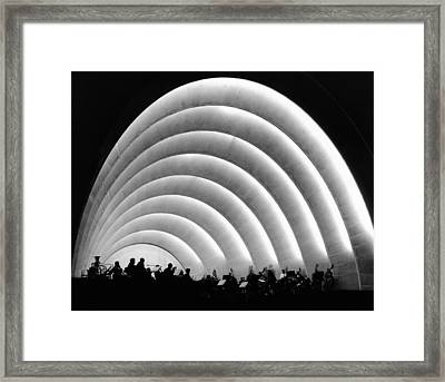 The Stage And Shell Of The Hollywood Framed Print by Everett