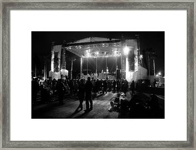 The Stage Framed Print by David Lee Thompson