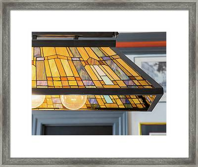 The Stained Glass Framed Print