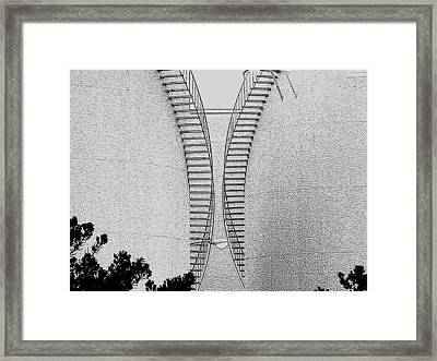 Framed Print featuring the photograph The Money Light by John King