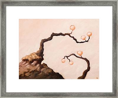 The Stairs To The Cellar Framed Print by Ethan Harris