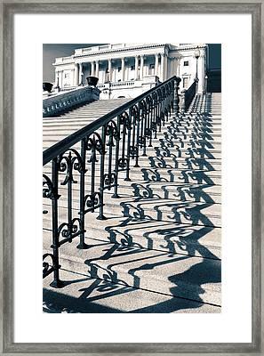 The Stairway Framed Print