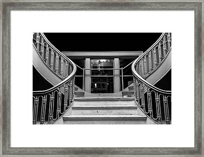 The Stairwell Framed Print