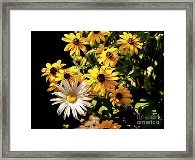 The Standout Framed Print by Victoria Harrington