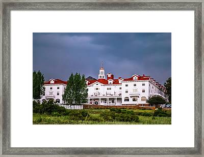 The Stanley Hotel - Estes Park Colorado Framed Print by Gregory Ballos