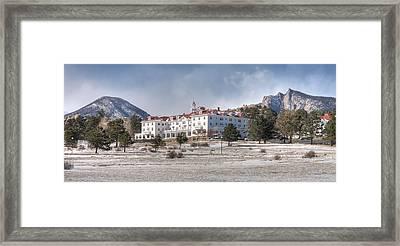 The Stanley Hotel Framed Print