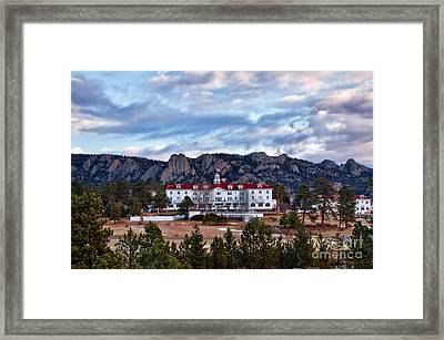 The Stanley Hotel Framed Print