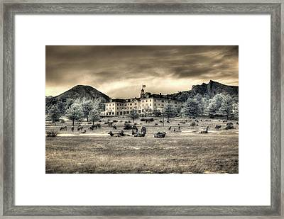 The Stanley With Elk Ir Framed Print