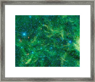 The Star Cluster Ngc 2259 Framed Print by American School