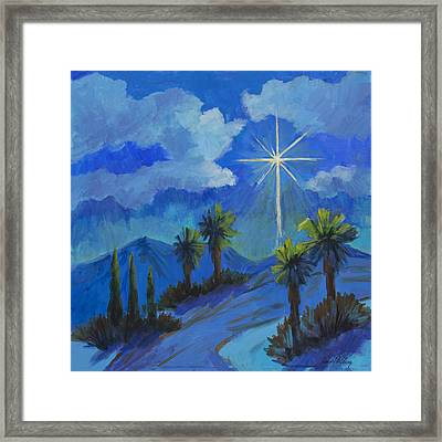 The Star Framed Print by Diane McClary