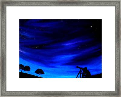 The Star Gazer Framed Print