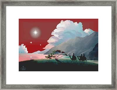 The Star Of Bethlehem Framed Print
