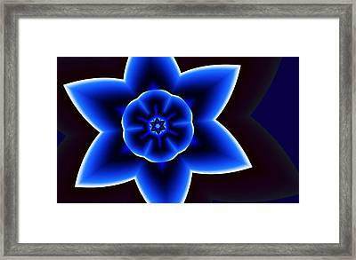 The Star Of David Framed Print