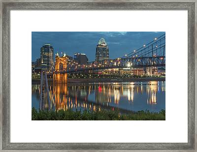 The Star Of The Queen City Framed Print by Brad Monahan