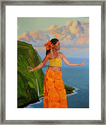 The Star Of The Sea Framed Print