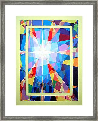 The Star Framed Print by Thomas Campbell