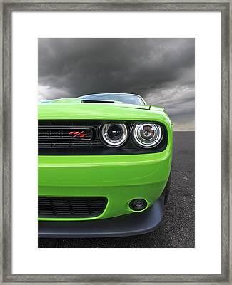 The Stare - Challenger Rt Framed Print