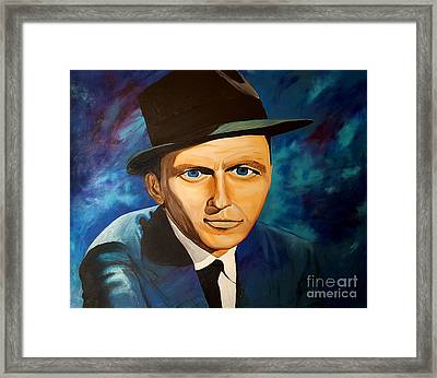 The Stare Of Framed Print