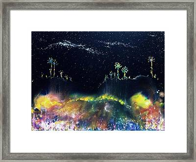 The Starfields Of Andromeda Framed Print by Lee Pantas
