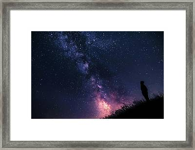 The Stargazer Framed Print