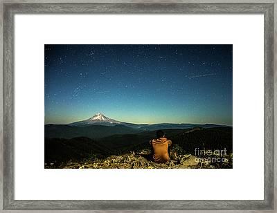 The Stargazer Framed Print by Zach Deets