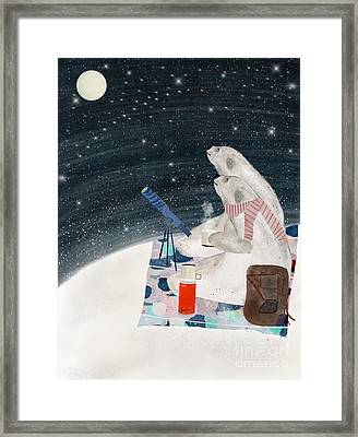 Framed Print featuring the painting The Stargazers by Bri B