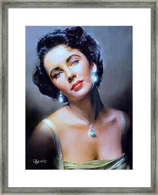 The Starlet Framed Print by Dave Luebbert