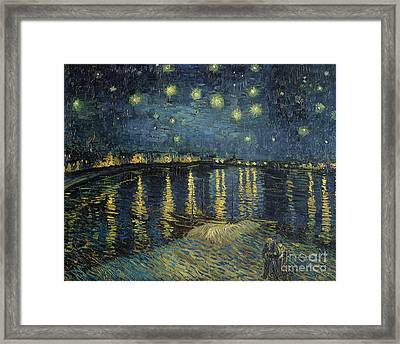 The Starry Night Framed Print