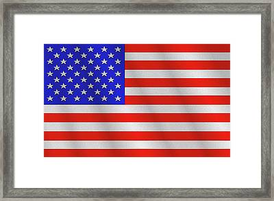 The Stars And Stripes Framed Print by Mike McGlothlen