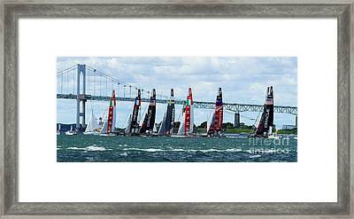 The Start Framed Print by Butch Lombardi