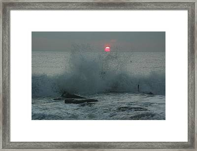 The Start Of A New Day Framed Print by See Me Beautiful Photography