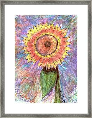 The Start Of All Things Framed Print by Dale Arends