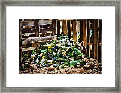 The Stash Framed Print