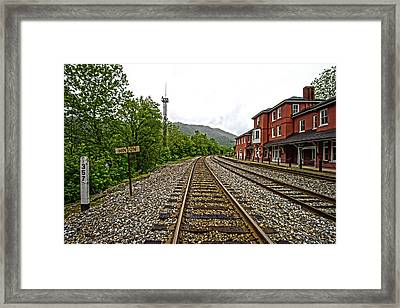 The Station Framed Print