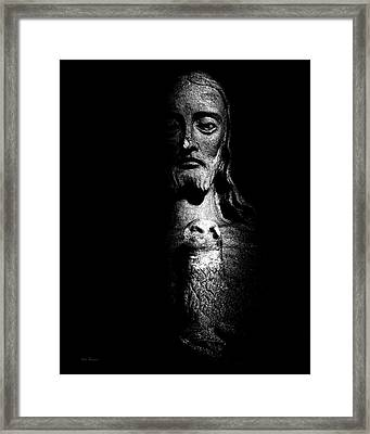 The Statue Framed Print by Bob Orsillo
