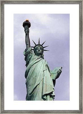 The Statue Of Liberty Framed Print by Auguste Bartholdi